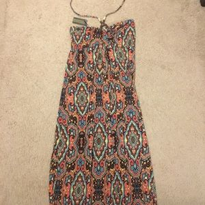 NWT JUST LOVE multi colored maxi dress